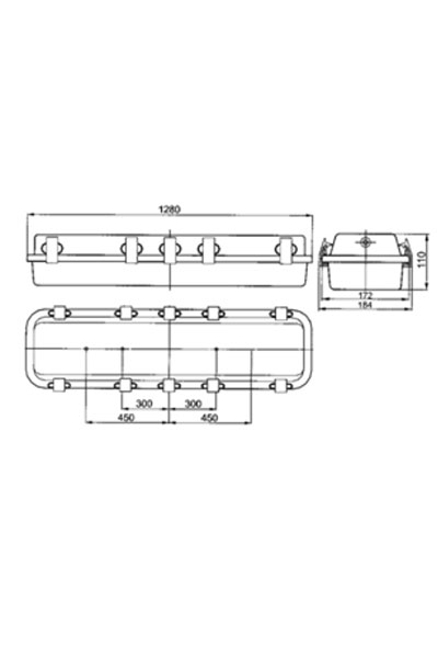 Explosion-proof light fittings LINEX