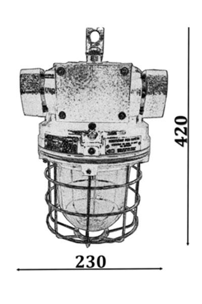 Explosion-proof light fittings MINEX I