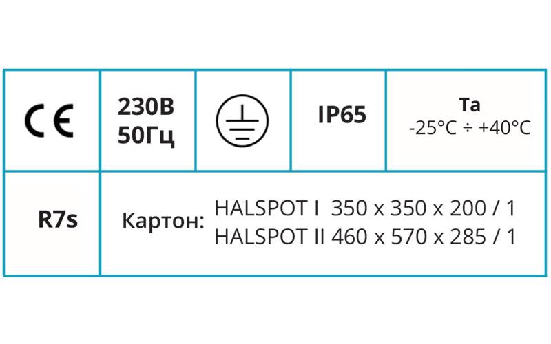 HALSPOT I, II HALSPOT I, II